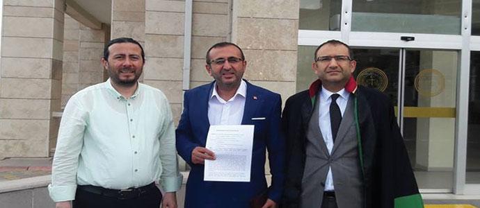 CHP Onikişubat İlçe Başkanı Ünal Ateş den TRT hakkında savcılığa suç duyurusu