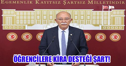 ÖĞRENCİLERE KİRA DESTEĞİ ŞART!