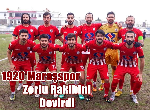 1920 Maraşspor Dersim 62 spor'u Eli boş gönderdi