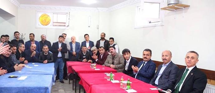 M.İlker ÇİTİL İstanbul'da hemşehrileriyle bir araya geldi.
