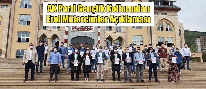 AK Parti Gençlik Kollarından Erol Mütercimler Açıklaması