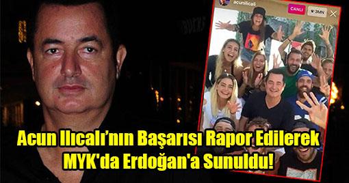 Mahir Ünal'ın Acun Ilıcalı Sunumu Erdoğan'ı Harekete Geçirdi!