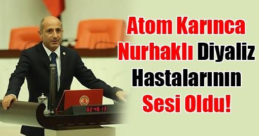 Milletvekili Öztunç, Nurhaklı Diyaliz Hastalarının Sesi Oldu!