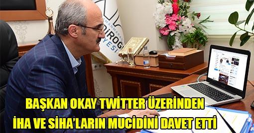 Selçuk Bayraktar'a Twitter Üzerinden Davet!