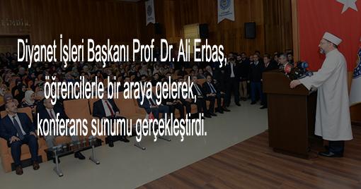 Diyanet İşleri Başkanı Erbaş, Kahramanmaraş'ta Cami Açılışını Gerçekleştirdi