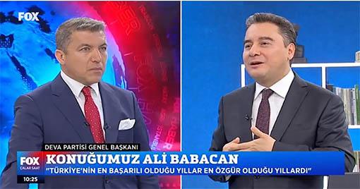Ali Babacan'dan Erdoğan'a Sert Sözler