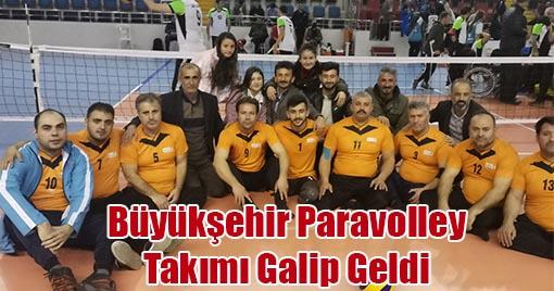 Büyükşehir Paravolley Takımı Galip Geldi