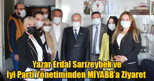 Ünlü Yazar Sarızeybek ve İyi Parti Yönetiminden MİYABB'a Ziyaret