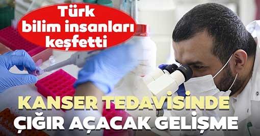 Türk Profesör'den Kanser tedavisinde çığır açacak Çalışma