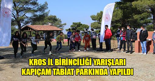 Atletizm Geliştirme Projesi İl Karmaları Kros yarışları Kahramanmaraş'ta Yapıldı
