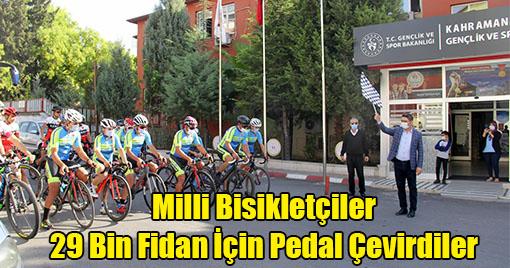 Kahramanmaraş'ta 29 Ekim Cumhuriyet Bayramı, 29 bin Fidan Kampanyası