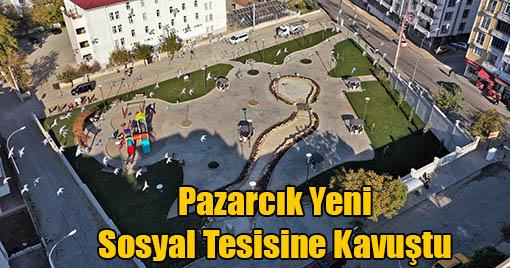 Ahmet Bozdağ Parkı ilçeye çok yakıştı