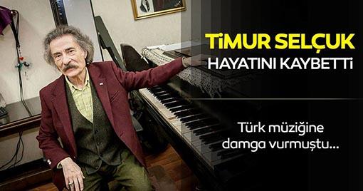Türk Müziğinin Unutulmaz Ustalarından Timur Selçuk Ölü Bulundu!