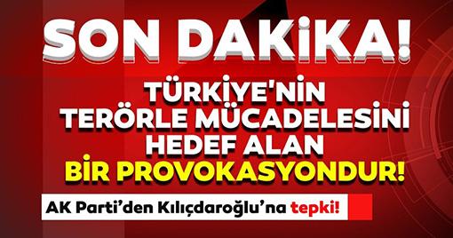 Gara Şehitleri İçin Erdoğan'ı Suçlayan Kılıçdaroğlu'na Sert Tepki