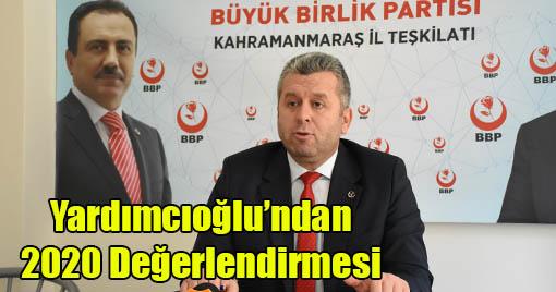 """Yardımcıoğlu: """"Maalesef ki insanlık sınıfı geçemedi!"""""""