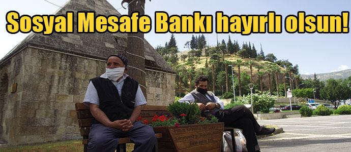 Sosyal Mesafe Bankı hayırlı olsun!