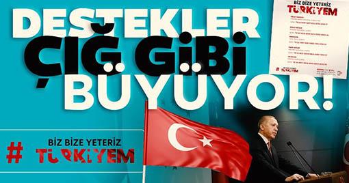 Erdoğan'ın Başlattığı Kampanyaya Ünlülerden Destek Gecikmedi!