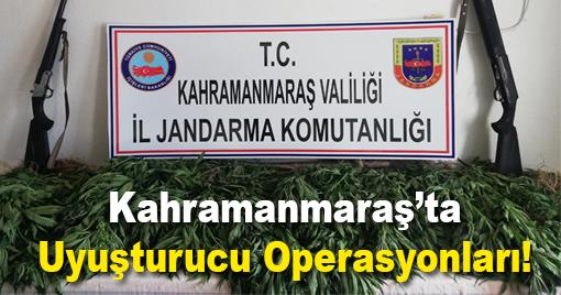 Kahramanmaraş'ta Uyuşturucu Operasyonları!