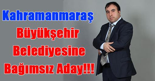 Büyükşehir Belediyesine Bağımsız Aday !!!