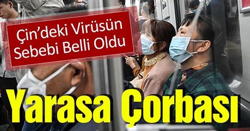 Çin'de Hızla Yayılan Virüsün Sebebi Ortaya Çıktı!