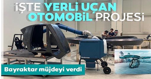 Bayraktar'dan Milli Uçan Araba Müjdesi!