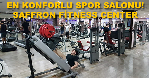 EN KONFORLU SPOR SALONU! SAFFRON FİTNESS CENTER