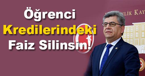 Milletvekili Aycan'dan Öğrencileri Hafifletecek Önerme