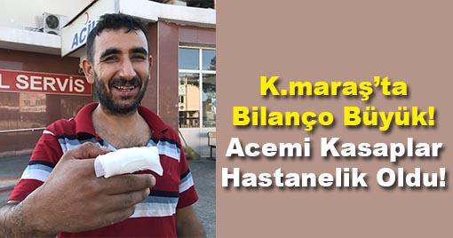 Kahramanmaraş'ta Acemi Kasaplar Hastanelik Oldu!