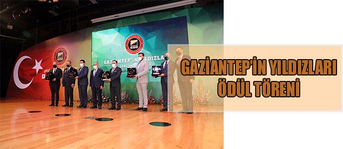 GAZİANTEP'İN YILDIZLARI ÖDÜL TÖRENİ