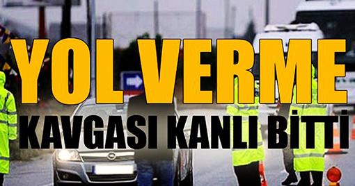 Kahramanmaraş'ta Yol Verme Kavgası:1 Yaralı
