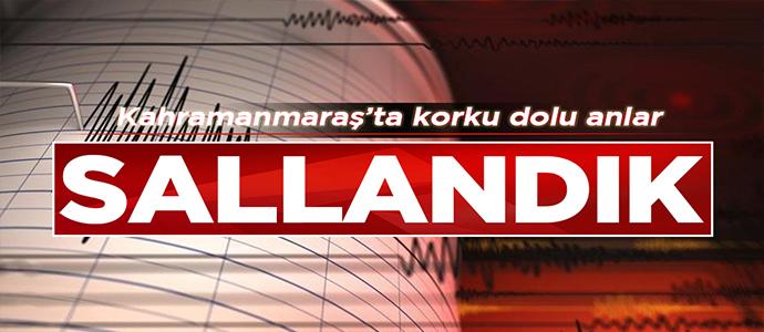 Kahramanmaraş'ta 3,1 Büyüklüğünde Deprem