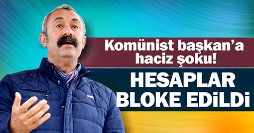 Komünist Başkana Haciz Şoku, Kartları Bloke Edildi!