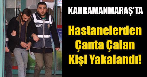 Özel Hastanelerden Çanta Çalan Kişi Yakalandı!