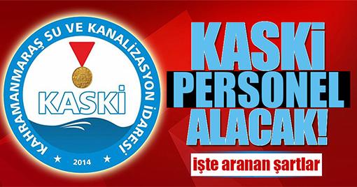 KASKİ PERSONEL ALIYOR!