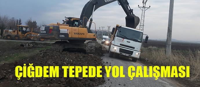 ÇİĞDEMTEPE GRUP YOLUNDA ÇALIŞMA