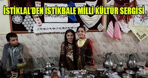 Kahramanmaraş'ın Köklü Okulundan Kültür Sergisi