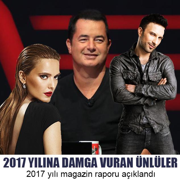 2017 YILINA DAMGA VURAN ÜNLÜLER
