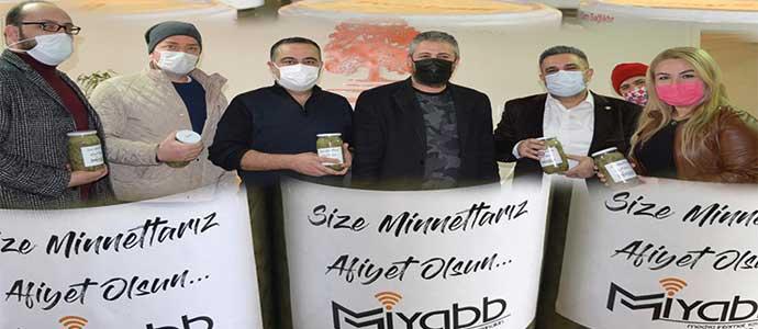 MİYABB'tan Sağlık Çalışanlarına Tirşik Çorbası İkramı