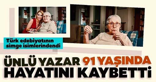 Ünlü Yazar Adalet Ağaoğlu'nun Ölüm Nedeni Açıklandı!