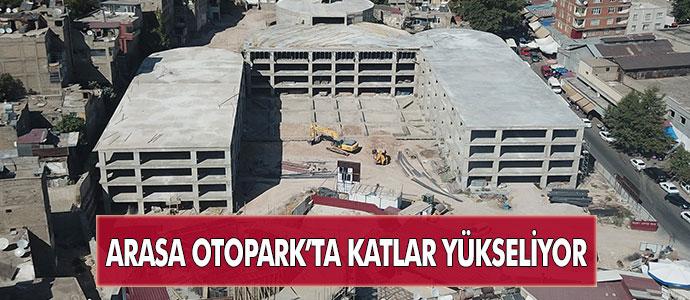 ARASA OTOPARK'TA KATLAR YÜKSELİYOR