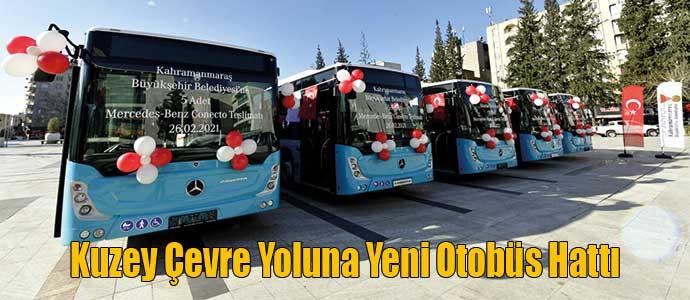 Kuzey Çevre Yoluna Yeni Otobüs Hattı