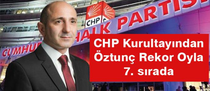 ÖZTUNÇ,REKOR OYLA 7. SIRADAN PM ÜYESİ OLDU..
