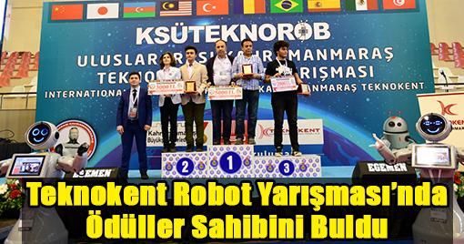 Teknokent Robot Yarışması'nda Ödüller Sahibini Buldu