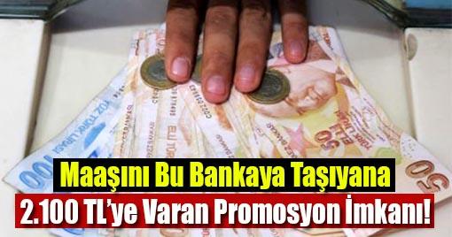 Emekli Maaşını Bu Bankaya Taşıyana Binlerce Lira Promosyon!