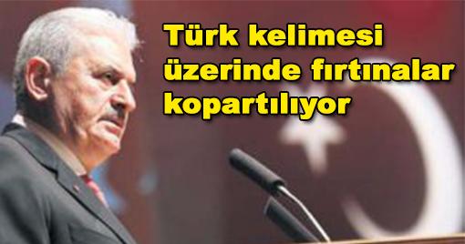 Türk kelimesi üzerinde fırtınalar kopartılıyor