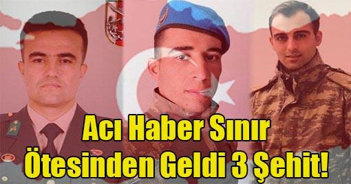 Bombalı Araç Saldırında 3 Asker Şehit Düştü!